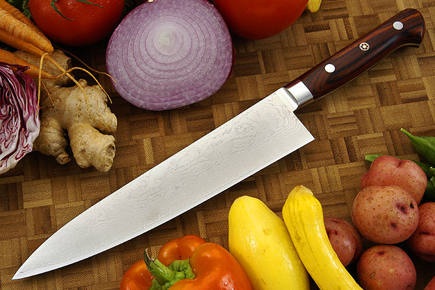 Epicurean Damascus Chef's Knife - Gyuto - 8 1/4 in. (210mm)