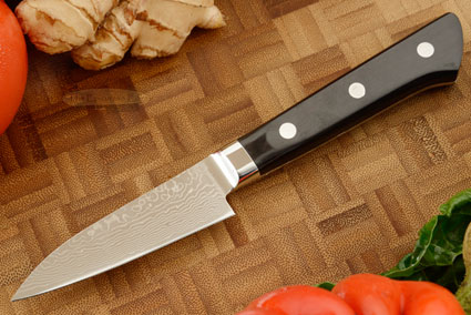 Ryusen Damascus Paring Knife - Petty Knife - 3in. (75mm)