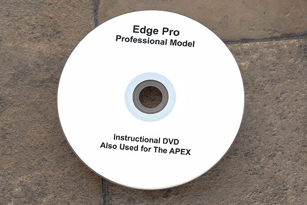 Instructional DVD for Apex Sharpener