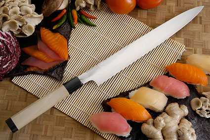 Suminagashi Left-Handed Yanagiba (Sashimi Knife) - 300mm (11.8 in.)