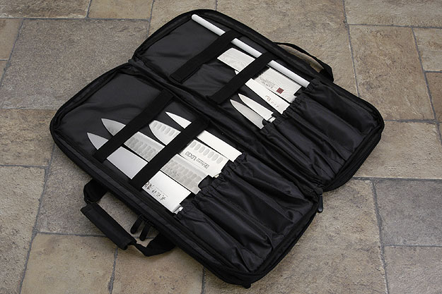 Three Compartment Knife Bag, Digital Camouflage (D301DC)