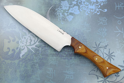 Santoku (Chef's Knife) with DymondWood (6 3/4 inches)
