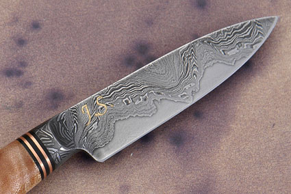 Damascus Paring Knife (3