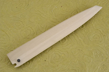Ho Wood Jyo-Saya (sheath) for Sushi Knife - Yanagiba (270mm/10 2/3 in.) - Right Handed, Large