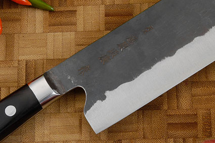 Denka no Hoto Chefs Knife - Nakiri, Western - 165mm (6 1/2 in.)