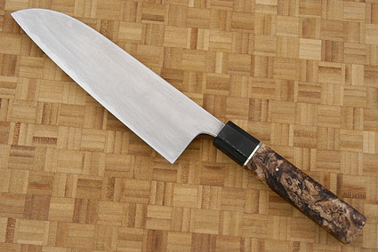 Chef's Knife (Santoku), Suminagashi - 180mm (7 1/8 in.)