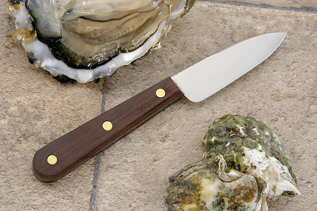 Bordelaise Oyster Knife with Rosewood