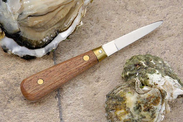 L'Econome Oyster Knife with Rosewood