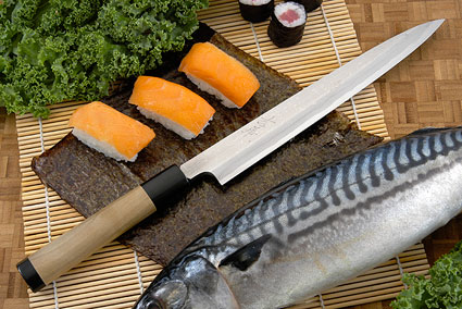 Suminagashi Right-Handed Yanagiba (Sashimi Knife) - 240mm (9 1/2 in.)