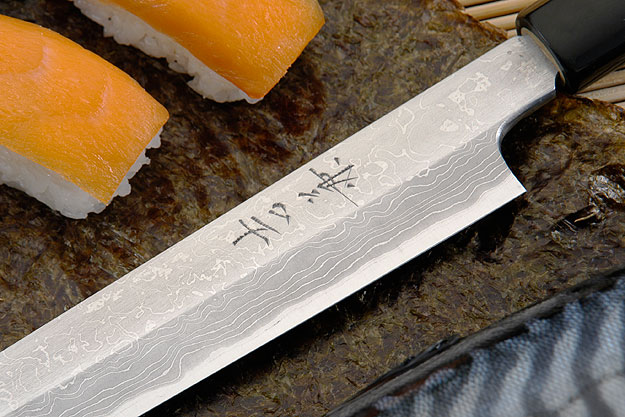Suminagashi Left-Handed Yanagiba (Sashimi Knife) - 240mm (9 1/2 in.)