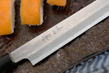 Suminagashi Right-Handed Yanagiba (Sashimi Knife) - 270mm (10 2/3 in.)
