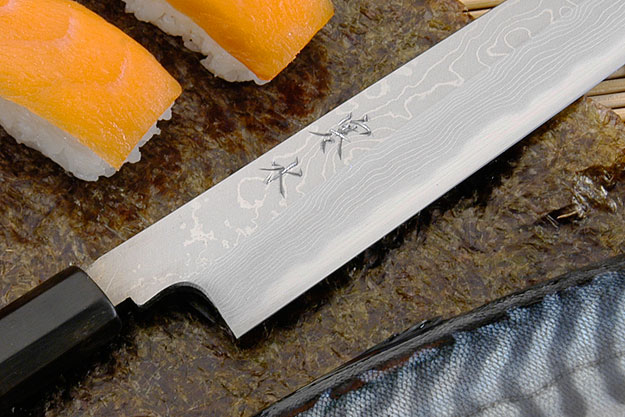 Kansui Suminagashi Right-Handed Yanagiba (Sashimi Knife) - 240mm
