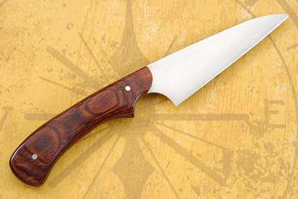 Wharncliffe Slicer with Rosewood Dymondwood (4 in.)