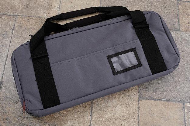 Three Compartment Knife Bag, Grey (D401GR)