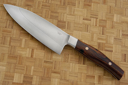 Chef's Knife with Ironwood (6 in)