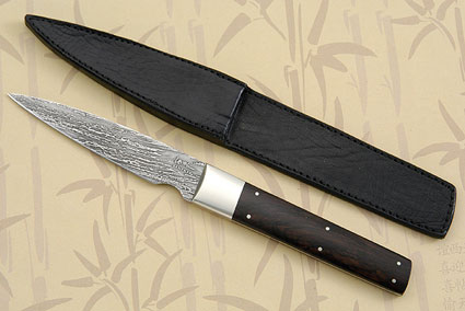 Paring Knife with African Blackwood