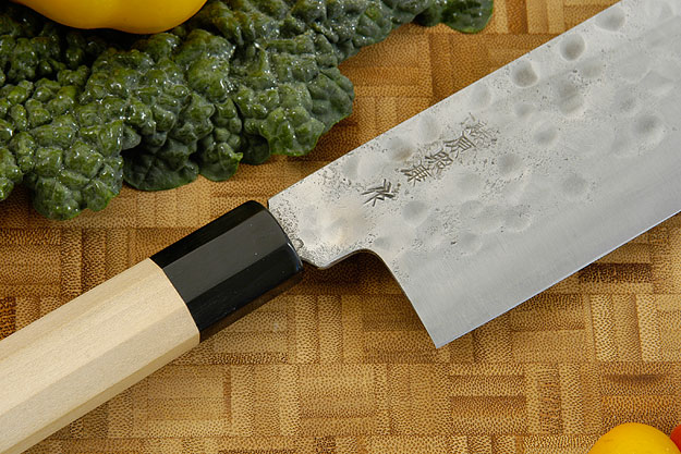 Maboroshi no Meito Vegetable Cleaver - Nakiri, Traditional - 165mm (6 1/2 in.)