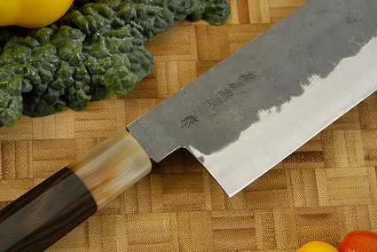 Denka no Hoto Chefs Knife - Nakiri, Traditional - 165mm (6 1/2 in.)