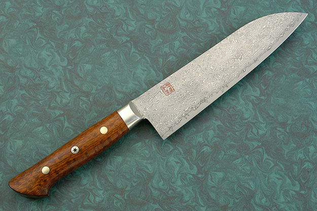 Chef's Knife - Santoku - 7-1/8 in. (180mm) with Snakewood Handle