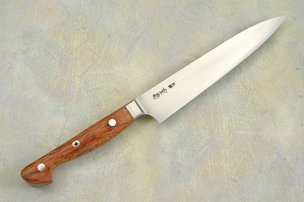 Western Slicing Knife with Sheoak Burl - 150mm (6 in)