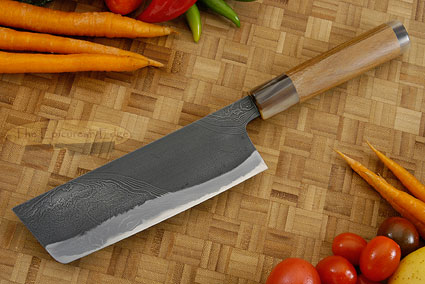 Half Twist Suminagashi Chef's Knife - Nakiri - 6-1/2 in. (165mm)