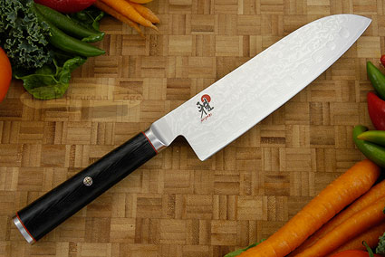 Santoku Chef's Knife with Granton Edge, 7 in. (34194-183)