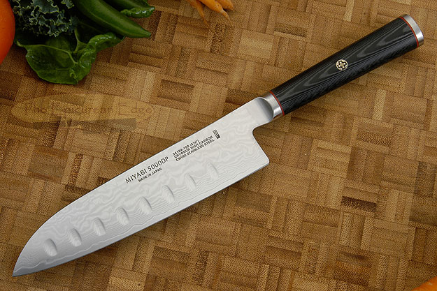 Santoku Chef's Knife with Granton Edge, 5-1/2 in. (34194-153)