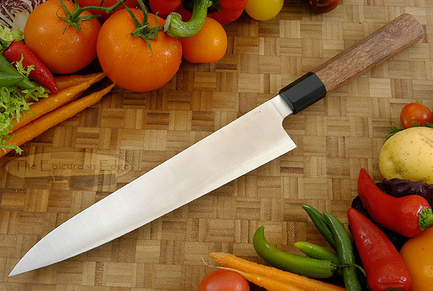 Chef's Knife - Gyuto (10 in.) PM San Mai with Lacewood