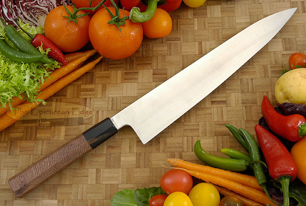 Chef's Knife - Gyuto (10-3/4 in.) PM San Mai with Beefwood