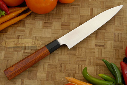 Slicing Knife - Petit Gyuto (6 in) with Cocobolo