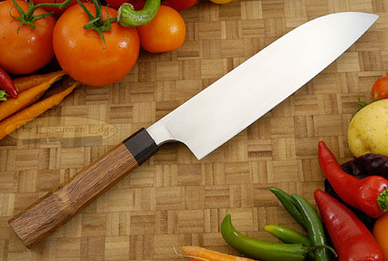 Chef's Knife - Santoku - 8 in. with Rosewood