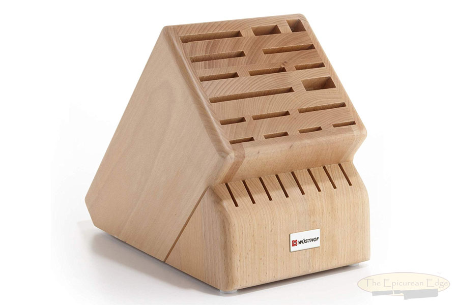 Knife Block, 25 slot Mega, Oak  (7259)