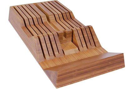 In-Drawer Storage Tray, Bamboo, 11 Slots (DM0835)