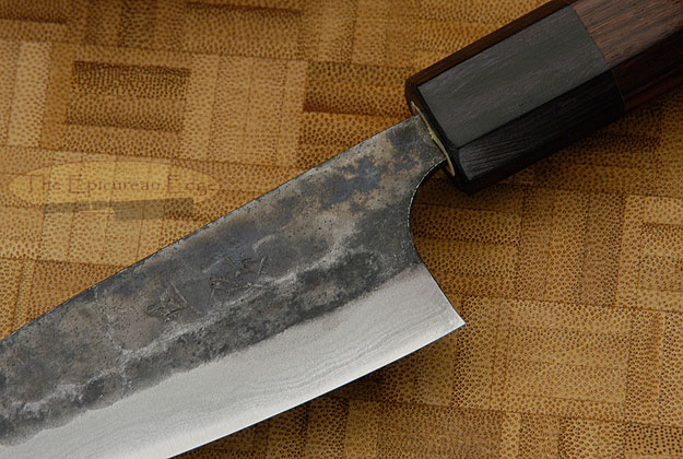 Tojinbo Damascus Paring Knife (Petty) - 4 in. (105mm)
