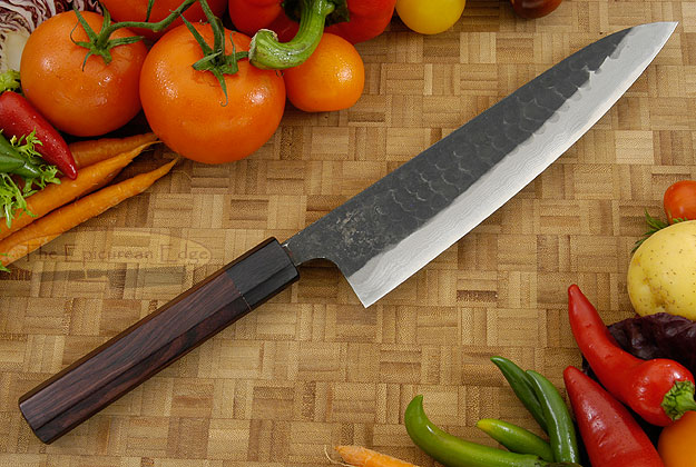 Tojinbo Damascus Chef's Knife - Gyuto - 8-1/4 in. (210mm)