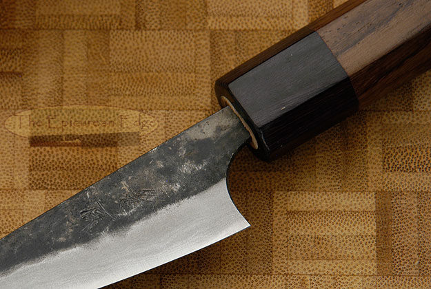 Tojinbo Damascus Paring Knife (Petty) - 3 in. (75mm)