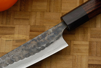 Tojinbo Damascus Utility - Fruit Knife - 5 1/3 in. (135mm)