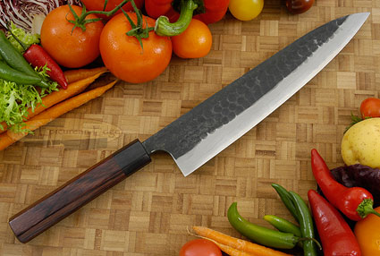 Tojinbo Damascus Chef's Knife - Gyuto - 9-1/2 in. (240mm)