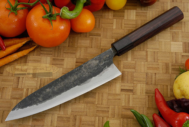 Tojinbo Damascus Chef's Knife - Gyuto - 7-1/8 in. (180mm)