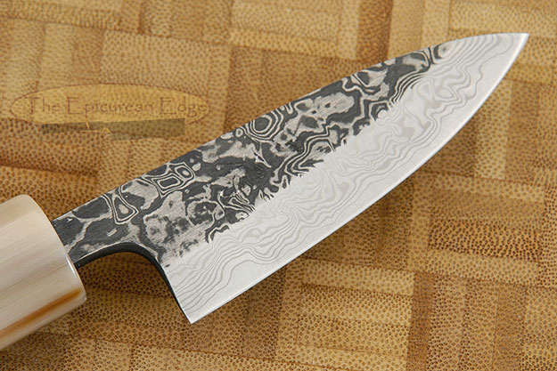 Damascus SLD Paring Knife - Petty Knife - 3 in. (75mm)