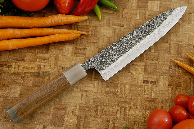 Damascus SLD Chef's Knife - Gyuto - 7-1/8 in. (180mm)