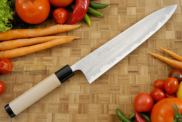 Damascus V2S Chef's Knife - Gyuto - 9-1/2 in. (240mm)
