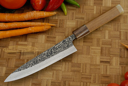 Damascus SLD Utility - Slicing Knife - Petit Gyuto - 6 in. (150mm)