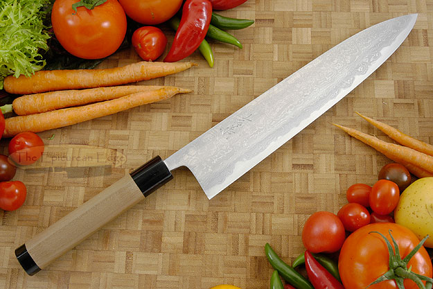Damascus V2S Chef's Knife - Gyuto - 10-2/3 in. (270mm)