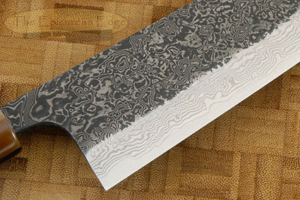 Damascus SLD Chef's Knife - Santoku - 6-1/2 in. (165mm)