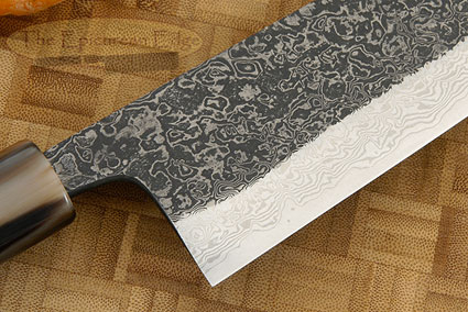 Damascus SLD Chef's Knife - Santoku - 7-1/8 in. (180mm)