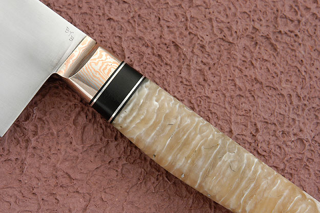 Chef's Knife (Gyuto) with Musk Ox Horn (10 3/4