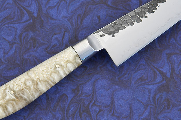 Paring Knife with San Mai 52100 and Musk Ox (3.9 in.)