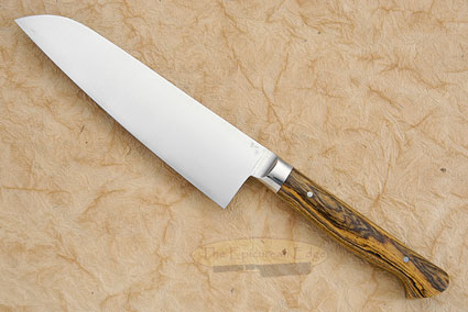 Chef's Knife (Santoku) with Bocote (6-3/4
