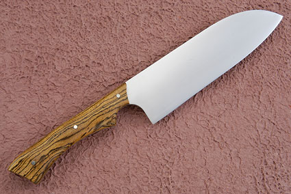 Santoku Chef's Knife with Bocote (6-1/2 inches)